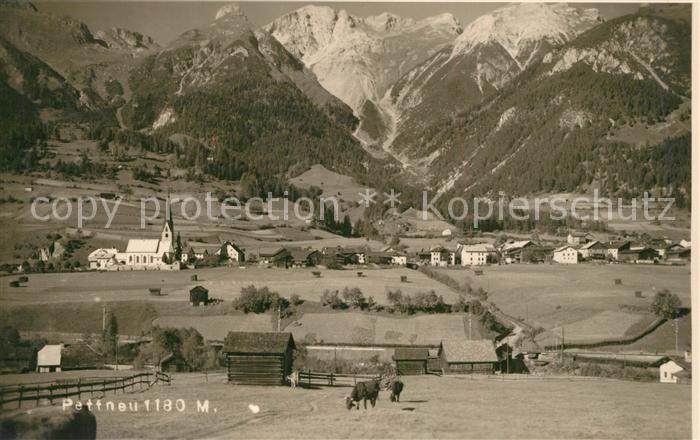 AK / Ansichtskarte Pettnau_Tirol Gesamtansicht mit Alpenpanorama Pettnau Tirol 0