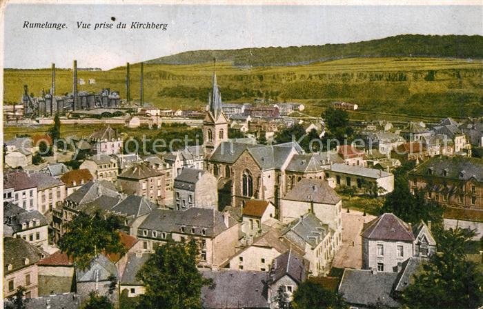 AK / Ansichtskarte Rumelange Vue prise du Kirchberg  0