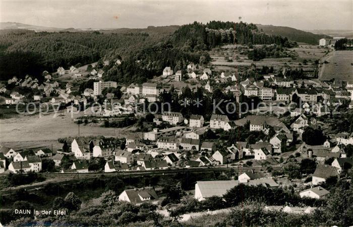 AK / Ansichtskarte Daun_Eifel Panorama Daun_Eifel 0