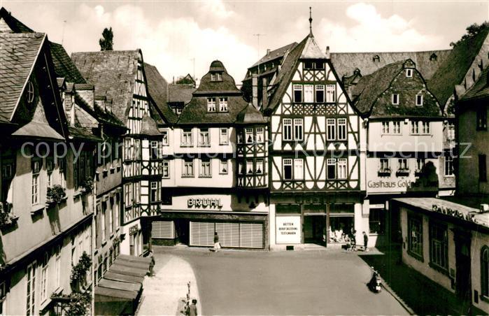AK / Ansichtskarte Limburg_Lahn Kornmarkt Altstadt Fachwerkhaeuser Limburg_Lahn 0