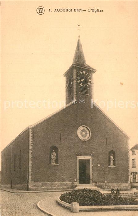 AK / Ansichtskarte Auderghem Eglise Kirche Auderghem 0