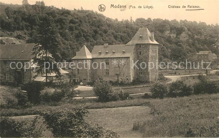 AK / Ansichtskarte Modave Chateau de Roiseux Schloss Modave 0