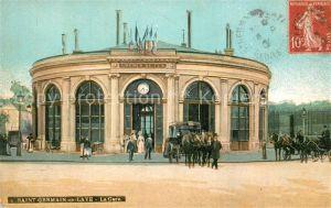 AK / Ansichtskarte Saint Germain en Laye La Gare Bahnhof Saint Germain en Laye