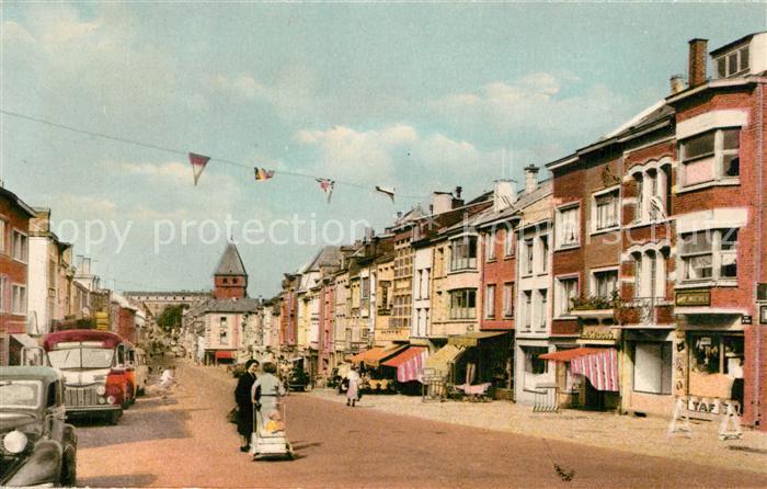 AK / Ansichtskarte Bastogne_Liege La Grande Rue Bastogne_Liege
