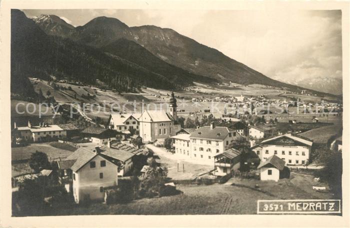 AK / Ansichtskarte Medratz Gesamtansicht mit Alpenpanorama Medratz 0