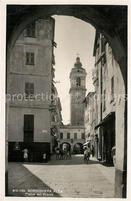 AK / Ansichtskarte Bordighera Piazza del Popolo Bordighera 0