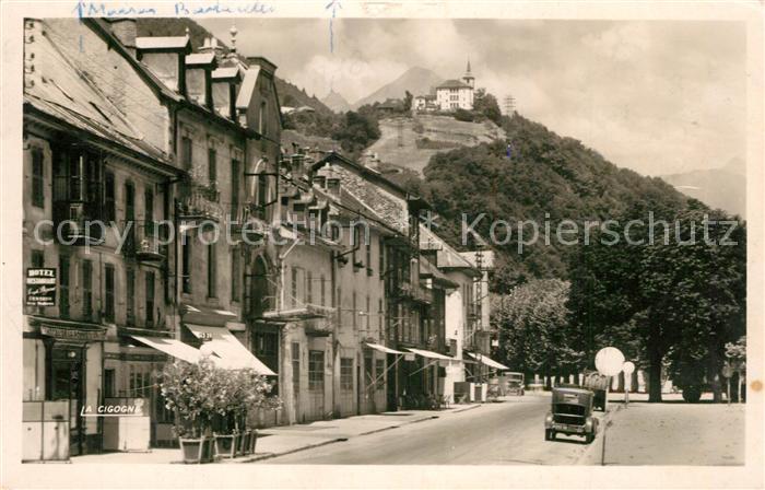 AK / Ansichtskarte Albertville_Savoie Quai des Allobroges Clocher de Pallud Albertville_Savoie 0