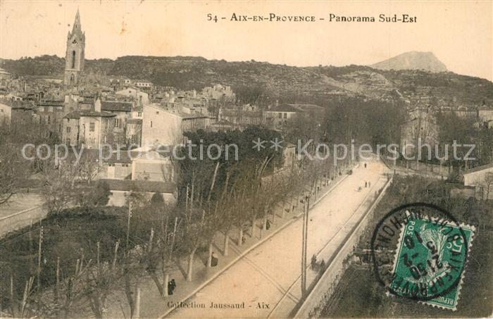 AK / Ansichtskarte Aix en Provence Panorama Aix en Provence 0