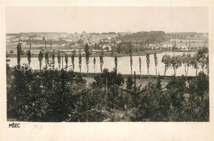 AK / Ansichtskarte Msec_Tschech_Rep Panorama  0