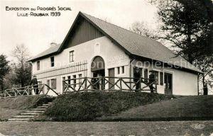 AK / Ansichtskarte Roubaix Exposition du Progres Social Pavillon des Vosges Roubaix