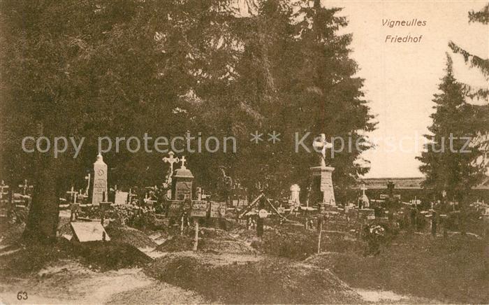 AK / Ansichtskarte Vigneulles Cimetiere Friedhof Vigneulles