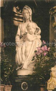 AK / Ansichtskarte Skulpturen Bruges Vierge et l Enfant par Michel Ange Eglise Notre Dame