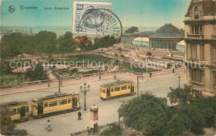 AK / Ansichtskarte Strassenbahn Bruxelles Jardin Botanique   0