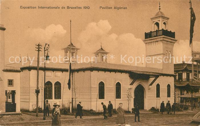 AK / Ansichtskarte Exposition_Universelle_Bruxelles_1910 Pavillon Algerien   0