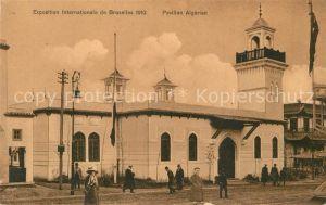 AK / Ansichtskarte Exposition_Universelle_Bruxelles_1910 Pavillon Algerien