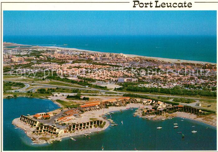 AK / Ansichtskarte Port_Leucate Fliegeraufnahme Port_Leucate 0