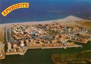 AK / Ansichtskarte Port_Leucate Fliegeraufnahme Aphrodite Village Port_Leucate
