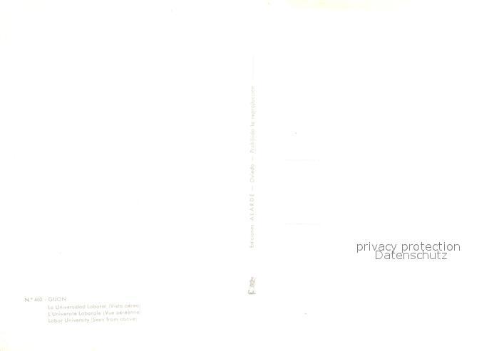 AK / Ansichtskarte Gijon Fliegeraufnahme Gijon 1