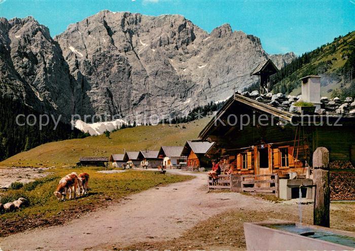 AK / Ansichtskarte Eng_Alm Karwendel Max Kofler Caf? G?stehaus Eng_Alm 0