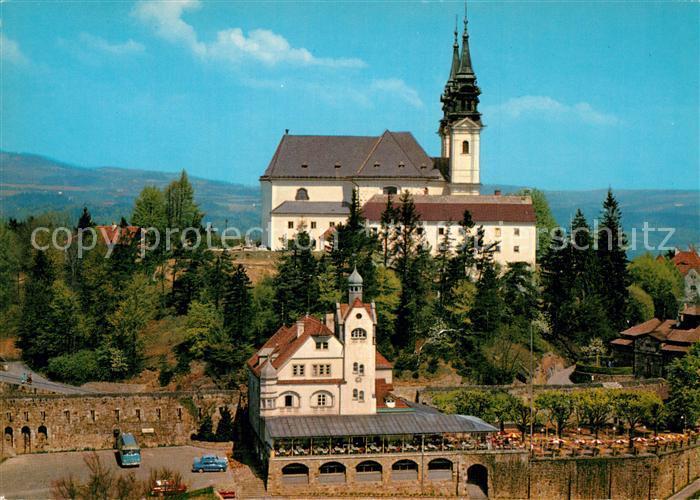 AK / Ansichtskarte Linz_Donau Hotel P?stlingberg Kirche Linz_Donau 0