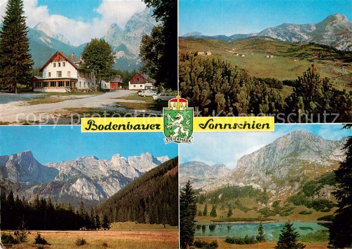 AK / Ansichtskarte Thoerl Alpengasthof Bodenbauer Sonnschien Sackwiesensee Landschaftspanorama Alpen Thoerl 0