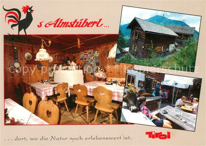 AK / Ansichtskarte Mayrhofen_Zillertal s Almstueberl Berggaststaette Jausenstation Mayrhofen_Zillertal 0