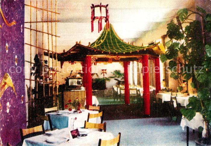 AK / Ansichtskarte Wien China Pavillon Chinese Restaurant Wien 0
