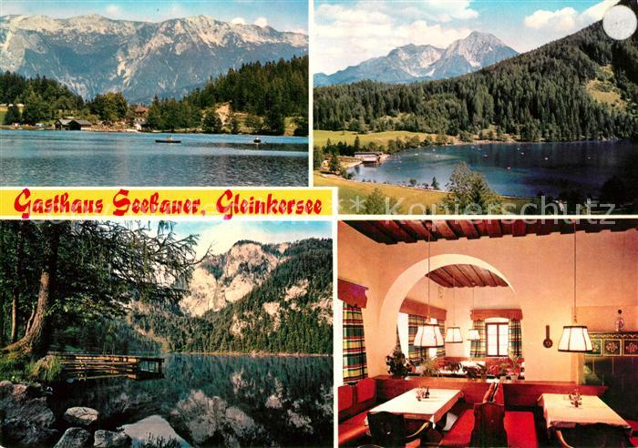 AK / Ansichtskarte Rossleithen Gasthaus Seebauer am Gleinkersee Alpen Rossleithen 0