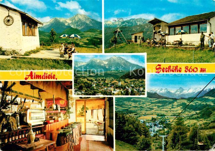 AK / Ansichtskarte Windischgarsten Almdiel Restaurant Cafe Wurbauerkogel Sessellift Landschaftspanorama Alpen Windischgarsten 0