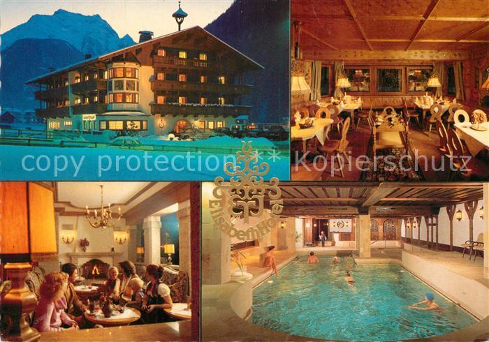 AK / Ansichtskarte Mayrhofen_Zillertal Elisabeth Hotel Restaurant Hallenbad Mayrhofen_Zillertal 0