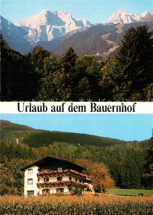 AK / Ansichtskarte Koetschach Mauthen_Kaernten Urlaub auf dem Bauernhof Alpenpanorama Koetschach Mauthen Kaernten 0