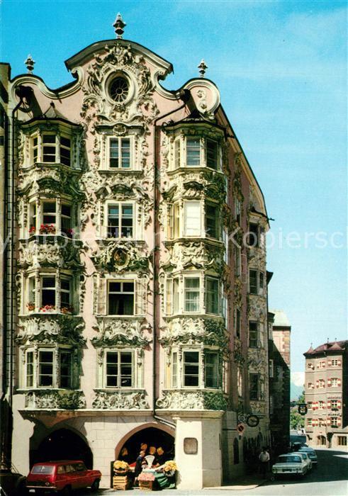 AK / Ansichtskarte Innsbruck Altstadt Helblinghaus Historisches Gebaeude 15. Jhdt. Innsbruck 0