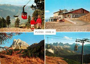 AK / Ansichtskarte Bressanone Plose bei Brixen Seilbahn Bressanone