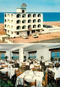 AK / Ansichtskarte Falerna Hotel Torino 2 Restaurant Strand Falerna