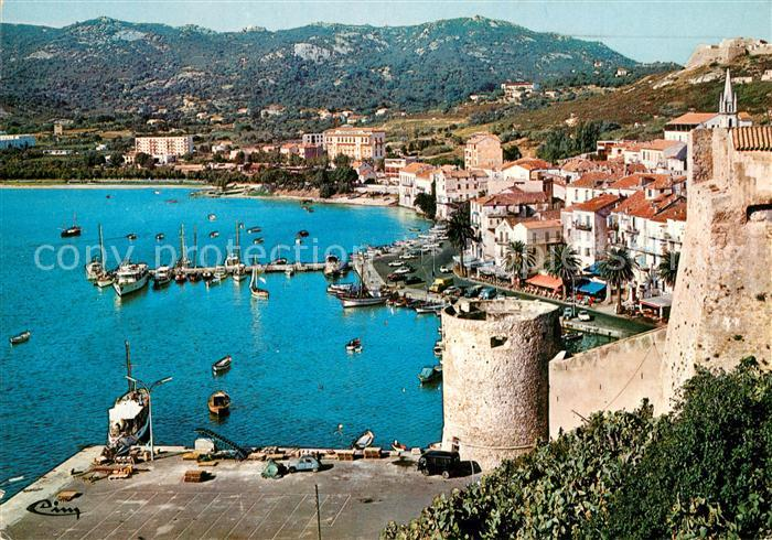 AK / Ansichtskarte Calvi Vue pittoresque sur le Port et ses Quais Calvi