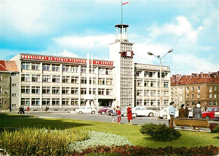 AK / Ansichtskarte Koszalin Ratusz Rathaus Koszalin