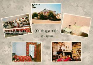 AK / Ansichtskarte Cerons Hotel Restaurant La Grappe d Or Cerons