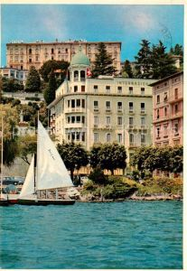 AK / Ansichtskarte Lugano_Lago_di_Lugano Hotel International au lac Luganersee Lugano_Lago_di_Lugano