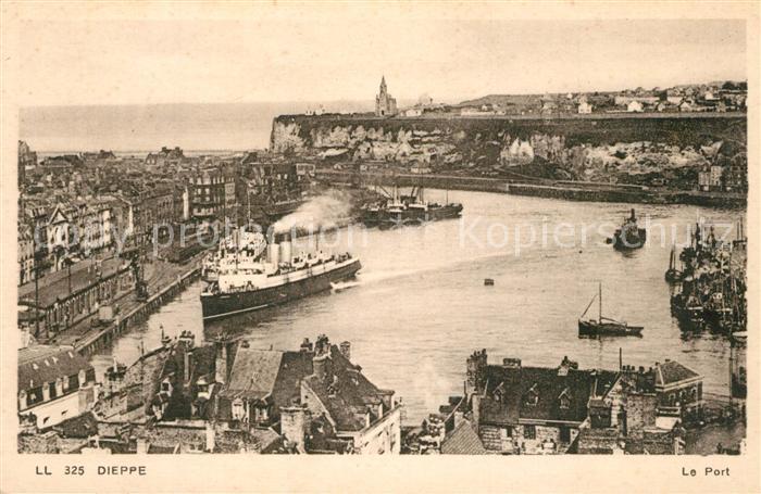 AK / Ansichtskarte Dieppe_Seine Maritime Le Port Dieppe Seine Maritime