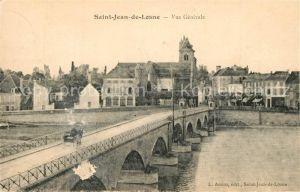 AK / Ansichtskarte Saint Jean de Losne Vue generale Saint Jean de Losne