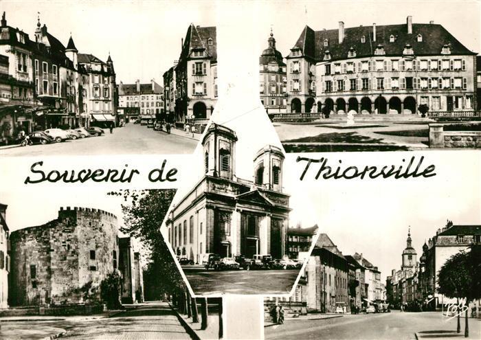 AK / Ansichtskarte Thionville Ortsansichten Thionville