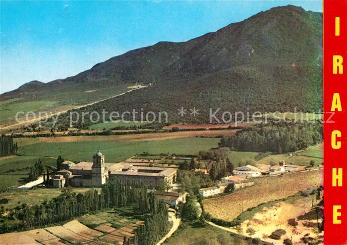 AK / Ansichtskarte Navarra Monasterio de Irache Vista general Navarra