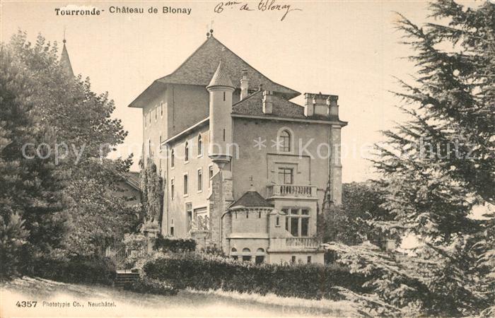 Tourronde_Lugrin Chateau de Blonay Schloss