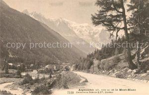 Argentiere_Haute Savoie et le Mont Blanc Alpes Argentiere Haute Savoie