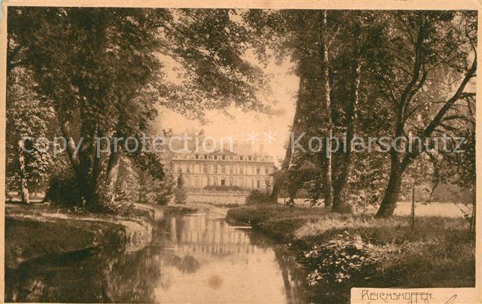 AK / Ansichtskarte Reichshoffen Chateau Blick zum Schloss Reichshoffen