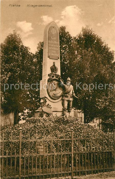 AK / Ansichtskarte Filehne_Wielen Kriegerdenkmal