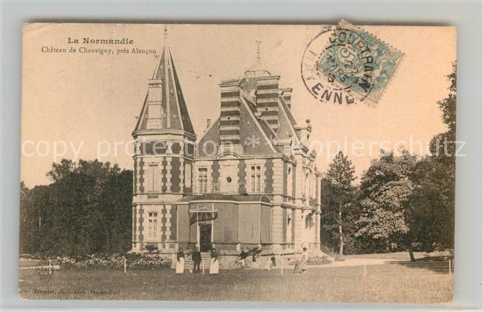 AK / Ansichtskarte Chauvigny Chateau Schloss Chauvigny