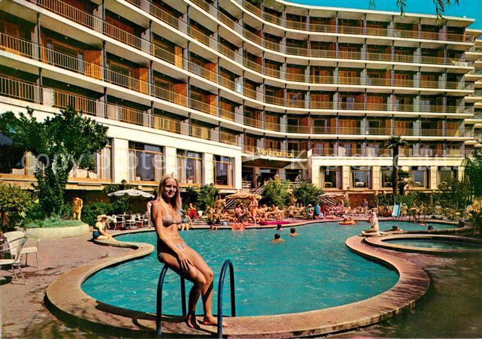 AK / Ansichtskarte Calella Hotel Esplai Calella