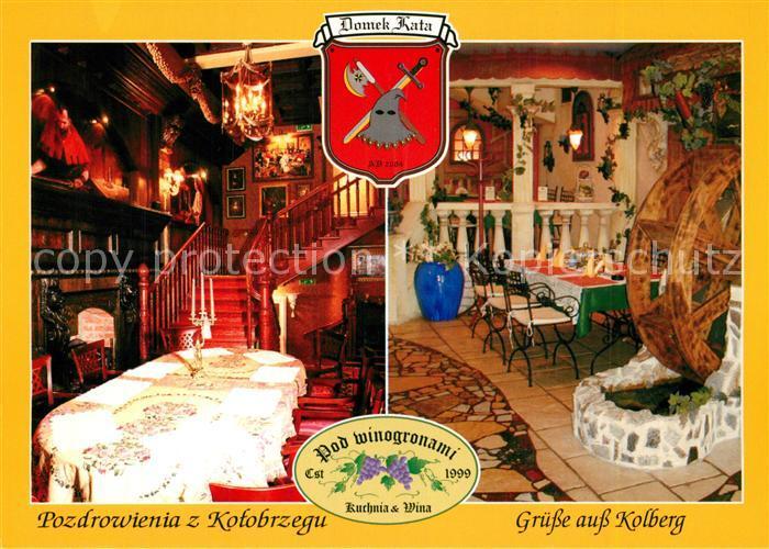 AK / Ansichtskarte Kolberg_Ostseebad_Kolobrzeg Pozdrowienia z Kolobrzegu Kolberg_Ostseebad