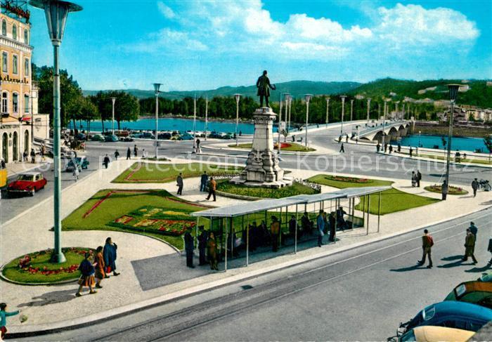 AK / Ansichtskarte Coimbra Place della Portagem Coimbra